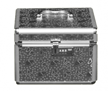 Beauty Case silber